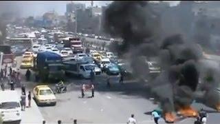 Şam sokakları savaş alanı