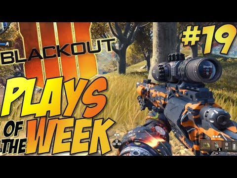Call of Duty: Black Ops 4 - BLACKOUT Kills Of The Week #19 (BO4 Blackout Plays & Moments Montage)