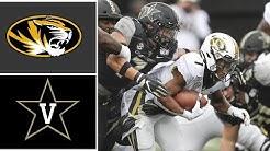 #22 Missouri vs Vanderbilt Highlights Week 8 College Football Highlights