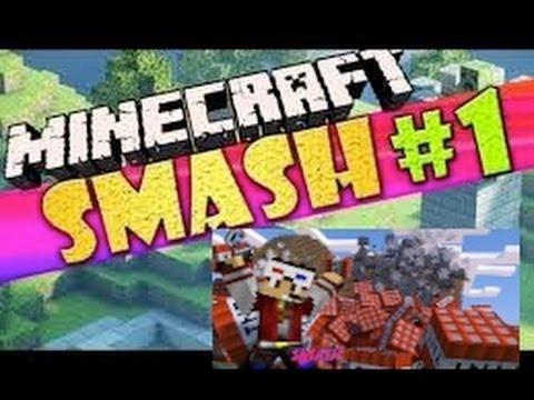 Minecraft:Minecraft: Smash ! Mini-Game w/ZGF,and sonic