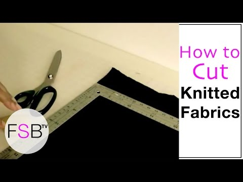 Cutting Knit Fabrics
