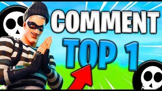 COMMENT FAIRE BEAUCOUP DE TOP#1 EN UNE JOURNÉE SUR FORTNITE Battle Royale