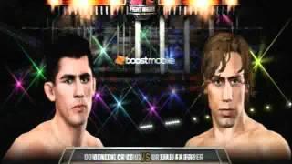 Clancey17 Gaming UFC Undisputed 3  Dominique Cruz vs Urijah Faber