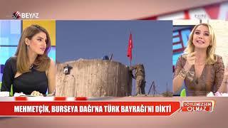 Mehmetçik, Burseya Dağı'na Türk bayrağını dikti!