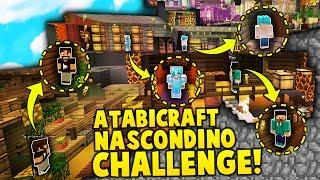NASCONDINO CHALLENGE super EPICO IN CASA  - ATABICRAFT VANILLA MULTIPLAYER Minecraft ITA 81