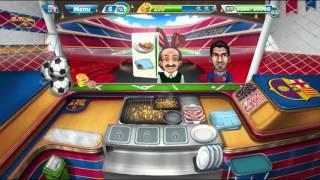 Cooking Fever FC Barcelona Sports Bar Level 4/ Кухонная Лихорадка Спорт-бар ФК Барселона Уровень 4