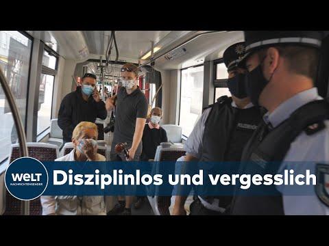 CORONAVIRUS-MAßNAHMEN: Maskenmuffeln droht flächendeckend Bußgeld bei Corona-Verstößen