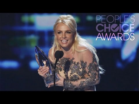 Britney Spears - 2014 People's Choice Awards (Favorite Pop Artist)