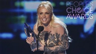 britney spears 2014 people s choice awards favorite pop artist