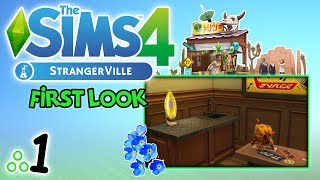 """First Look: THE SIMS 4: StrangerVille [1/4] - """"Lampka z lawą ❤"""""""