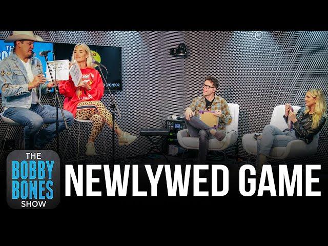 Newlywed Game\: Bobby Bones & Fiancé Caitlin vs. Jon Pardi & Fiancé Summer