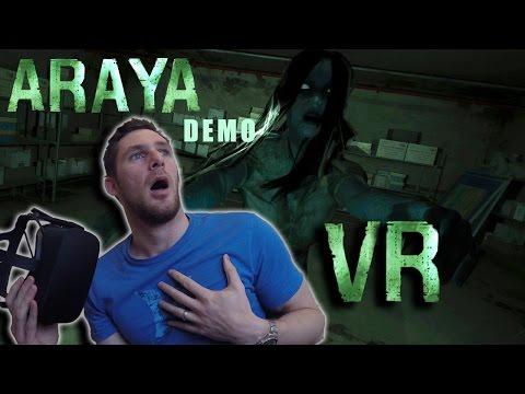 ARAYA Horror game in VR (I Was Terrified)