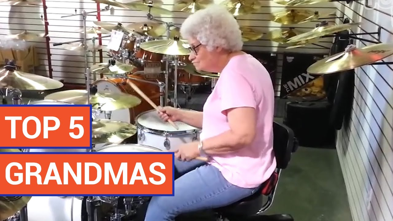Top 5 Cool Grandmas Compilation