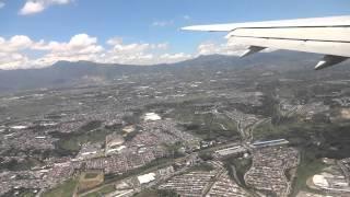 Delta Flight 451 Landing In La Aurora International Airport, Guatemala City