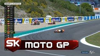 Sudar na Trci u Herezu - Pedrosa Poleteo u Vazduh | SPORT KLUB MotoGP