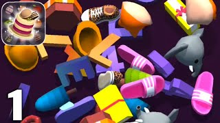 Tile Master 3D - Triple Match & 3D Pair Puzzle - Gameplay Walkthrough Part 1 Levels (Android & iOS) screenshot 1