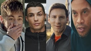 Cristiano RonaldoLionel MessiNeymar JrRonaldinhoPogba  Best Commercial Compilation