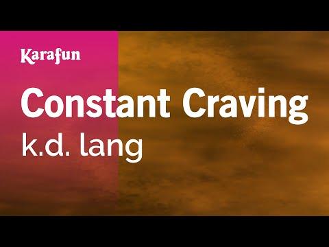 Karaoke Constant Craving - k.d. lang *