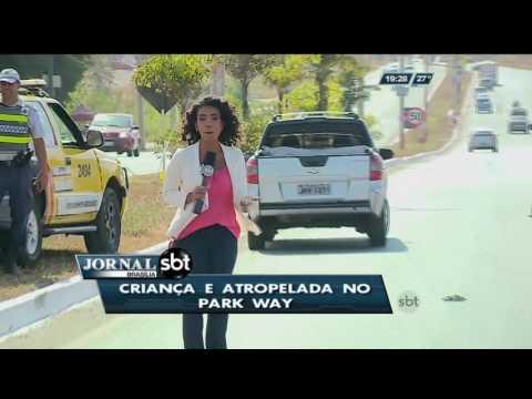 Criança é atropelada no Park Way