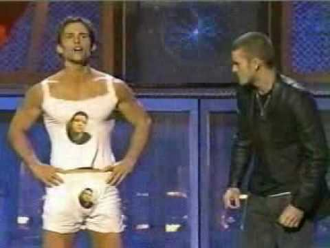JT and Sean host MTV Movie Awards 2003 part 2