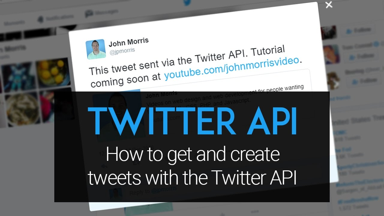 twitter api tutorial: how to create and get tweets using php and the