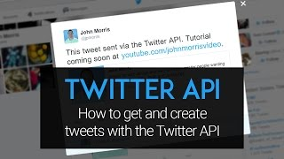 twitter api tutorial how to create and get tweets using php and the twitter api