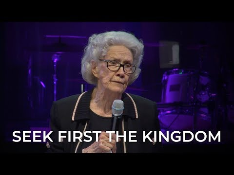 Seek First the Kingdom – Sister Vesta Mangun