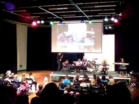 "Lakeside school York ""The Wednesdays"" Take on me 2011"