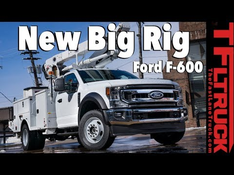 New Ford F-600 Can Carry Heavier Loads in a Smaller Super Duty Body
