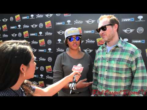 Eve & Maximillion Cooper at the 11th Annual Tony Hawk's Stand Up For Skateparks Benefit #THF