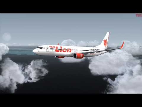 Full Flight: Surat Thani to Bangkok ✈ THAI LION AIR 737-900ER ✈ FSX