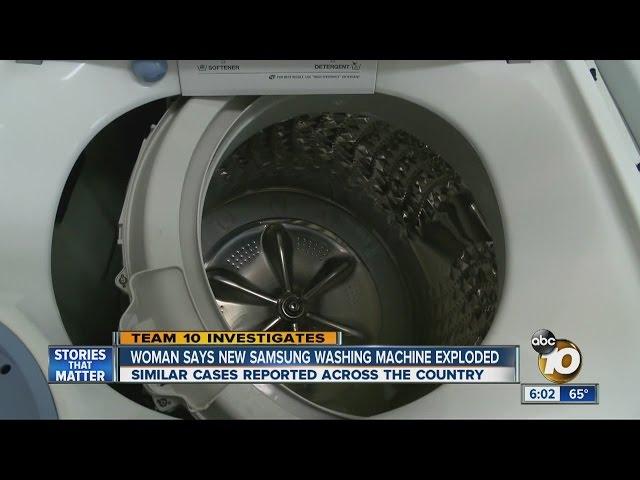 US Safety Regulators Warn Samsung against Exploding Washing
