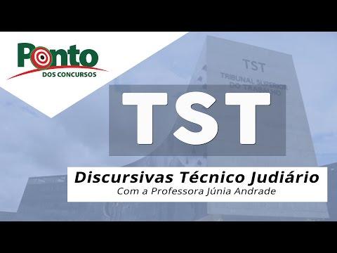 Discursivas TST - Júnia Andrade - Técnico Judiciário