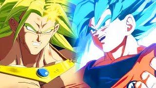Dragon Ball FighterZ - BARDOCK & BROLY REACT to GOKU Super Saiyan BLUE/GOD (Dialogues)