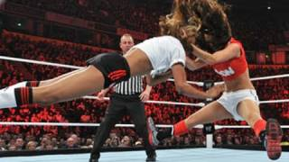 Raw: Divas Cup Tag Team Match