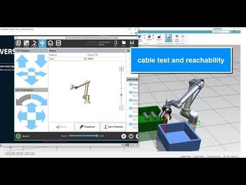 Process Simulate + Connect to Universal Robots