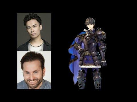 Video Game Voice Comparison- Berkut (Fire Emblem)