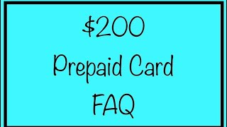 $200 PrePaid Debit Cards Coming Soon for Social Security, SSA, SSDI - FAQ