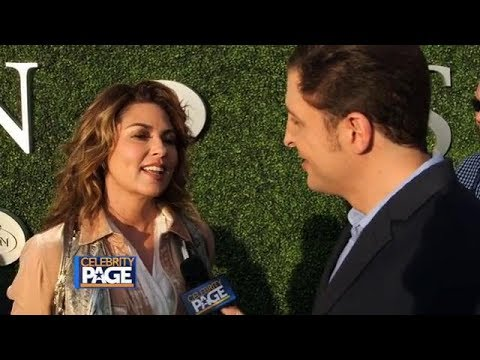 Shania Twain - Celebrity Page interview...