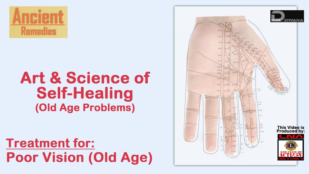 Colour therapy for myopia - Treatment For Poor Vision Old Age Art Science Of Self Healing Ancient Remedies