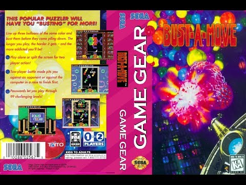 GAME GEAR - Bust A Move / Puzzle Bobble (Complete All 100 Levels)