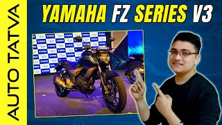 Yamaha FZ and FZ-S Version 3.0   A Basic Overview   Hindi