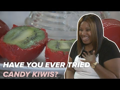 This Arkansan makes candy kiwis & other desserts!