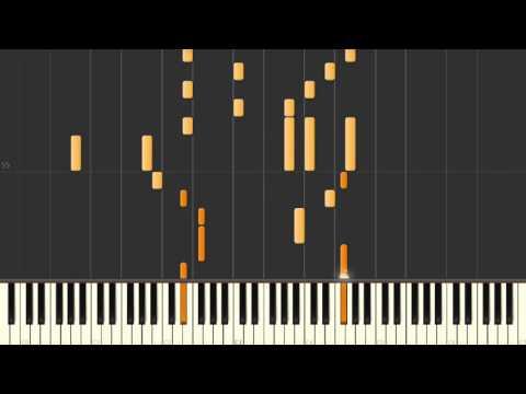 Clannad | Nagisa · Saka No Shita No Wakare - Synthesia Piano Tutorial