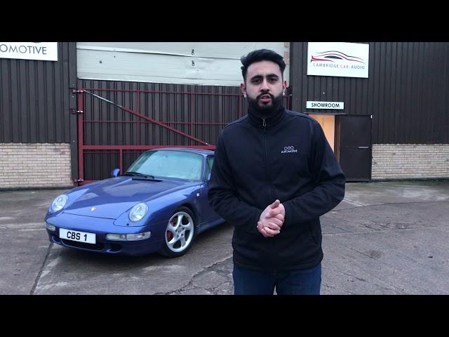 Porsche 993 Security and Audio upgrade  - Retaining factory look