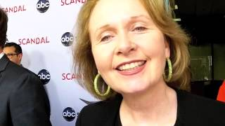 Kate Burton Talks SCANDAL