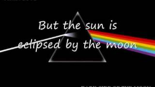 pink floyd eclipse lyrics