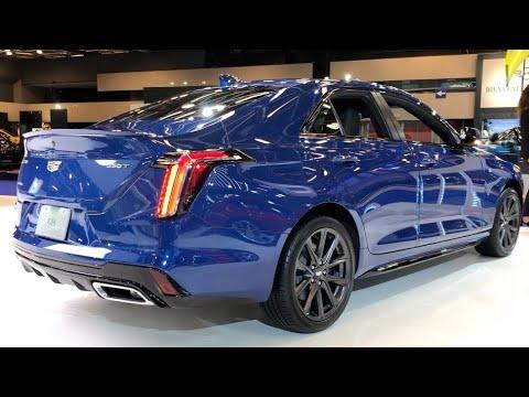 2020 Cadillac Ct4 350t Awd Wave Metallic 335hp In Depth Video Walk Around Youtube