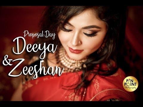 Proposal Day I Deeya & Zeeshan I Wedding Cinematography I PIN POINT Photography