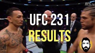 UFC 231 Results: Max Holloway vs. Brian Ortega | Post-Fight Special | Luke Thomas